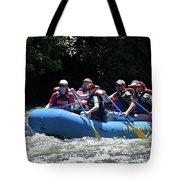 Nantahala River Rafting Tote Bag