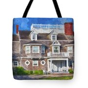 Nantucket Architecture Series 28 Tote Bag