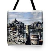 Nantucket Bikes 1 Tote Bag by Tammy Wetzel