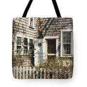 Nantucket Cottage Tote Bag
