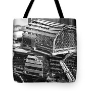 Nantucket Lobster Traps Tote Bag