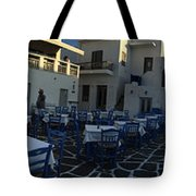 Naoussa Village Paros Greece Tote Bag