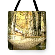 Nap Time On A Fall Day Tote Bag