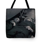 Nap Time With My Friend Tote Bag