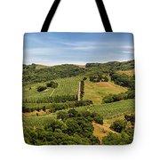 Napa Valley California Panoramic Tote Bag