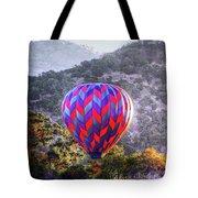 Napa Valley Morning Balloon Tote Bag