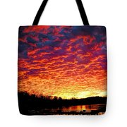Napalm Clouds Tote Bag