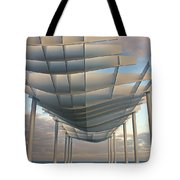 Napier Pier 2016 Tote Bag