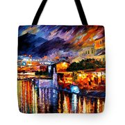Naples - Vesuvius Tote Bag