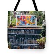 Naples Botanical Waterfall - Refreshing Garden Tote Bag
