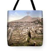 Naples: Mt. Vesuvius Tote Bag