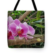 Naples Orchid 1 Tote Bag