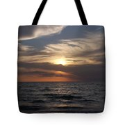Naples Sunset 0043 Tote Bag