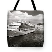Naples Vintage Old Card Tote Bag by Stefano Senise