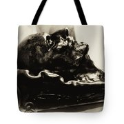 Napoleon's Death Mask Tote Bag