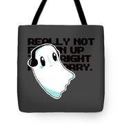 Napstablook Tote Bag