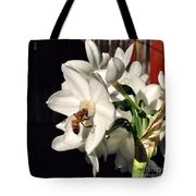 Narcissus And The Bee 1 Tote Bag by Daniele Smith