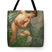 Narcissus Tote Bag