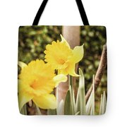 Narcissus Of A Plant Tote Bag