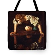 Narcissus Tote Bag by Pg Reproductions