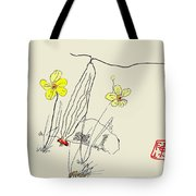 Narcissus  With Cricket Tote Bag