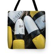 Narragansett Buoys Tote Bag