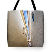 Narrow Alley In Cusco Tote Bag