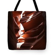 Narrow Canyon Ix Tote Bag