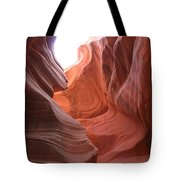 Narrow Canyon Xvii Tote Bag