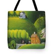 Narrow Foothills Tote Bag