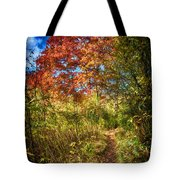 Narrow Is The Path Tote Bag