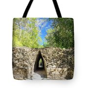 Narrow Passage In Becan, Mexico Tote Bag