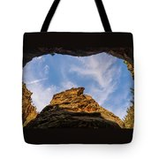 Narrows Sky Zion National Park Utah Tote Bag