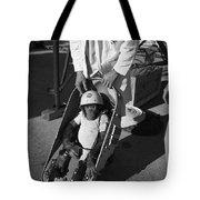 Nasa Chimp, 1961 Tote Bag