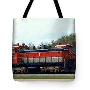 Nasa Space Shuttle Railroad Tote Bag