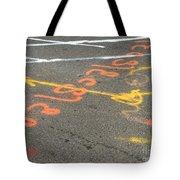 Nasca Lines New York Tote Bag