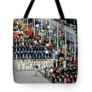 Nascar Line Up Tote Bag