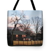 Nashua House Tote Bag by Michael Tesar