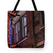 Nashville Crossroads Music City  Tote Bag