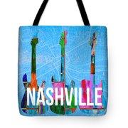 Nashville Guitars Tote Bag