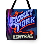 Nashville Honky Tonk Central Tote Bag