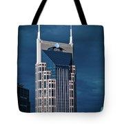 Nashville Landmarks Tote Bag