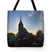 Nashville Skyline Tote Bag