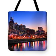 Nashville Southern Nights Tote Bag