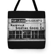 Nashville Sporting Goods Tote Bag