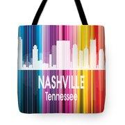 Nashville Tn 2 Vertical Tote Bag