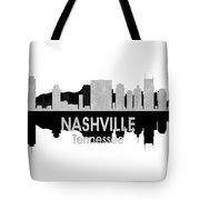 Nashville Tn 4 Squared Tote Bag
