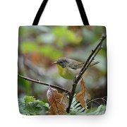 Nashville Warbler Tote Bag