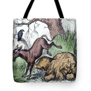 Nast: Democratic Donkey Tote Bag