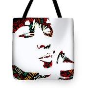 Natalie Cole Unforgettable Song Lyrics Tote Bag